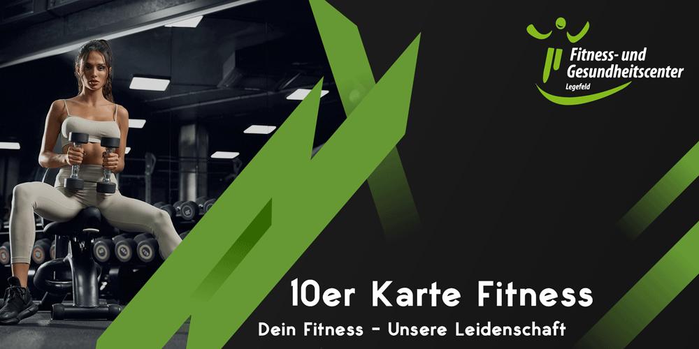 10er Karte Fitness